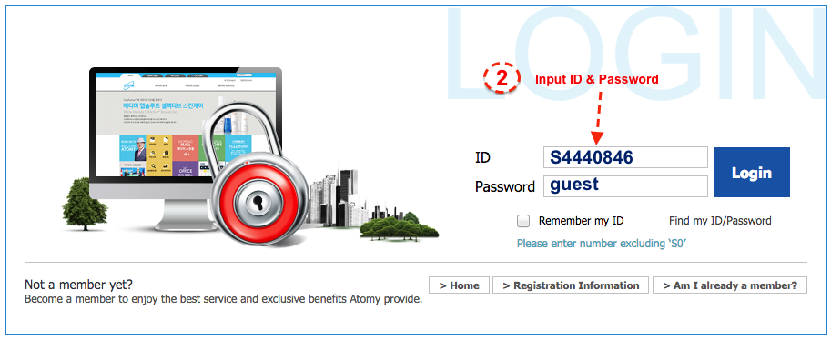 Guest Login - Find Out Why Atomy Can Save